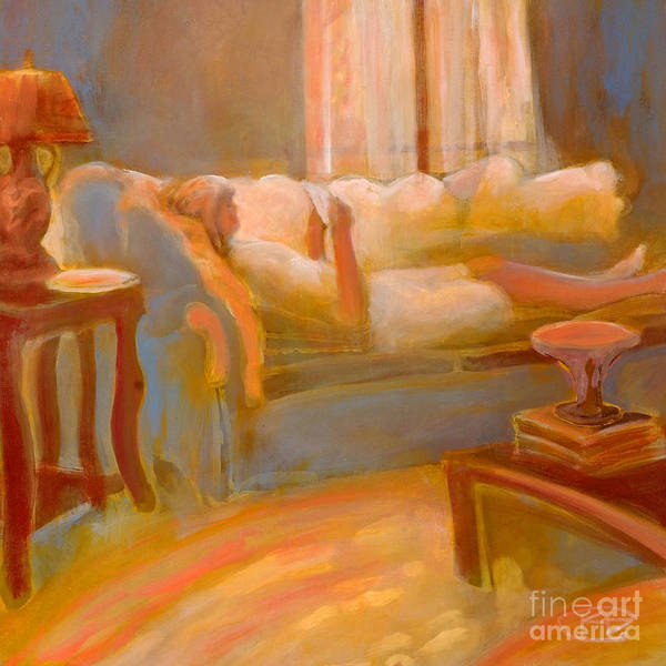 Love Art Print featuring the painting Love Letter by Kip Decker
