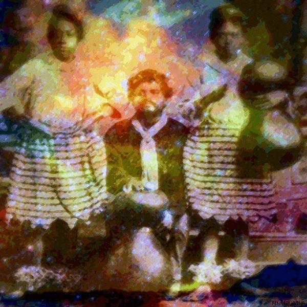Rainbow Colors Digital Art Print featuring the photograph Manawa Poe Kaahele by Kenneth Grzesik