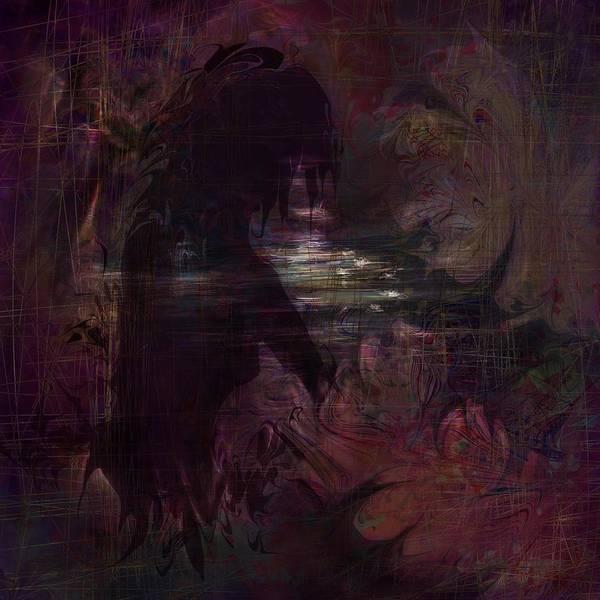 Dream Art Print featuring the digital art Midnight Dream by Rachel Christine Nowicki
