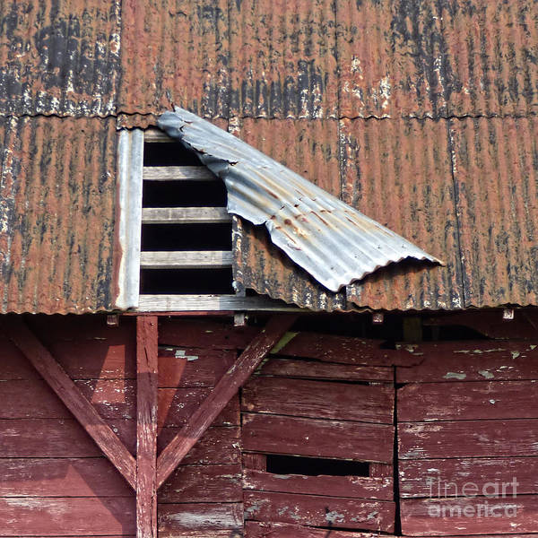Old Barn Art Print featuring the photograph Old Barn by Laura Atkinson