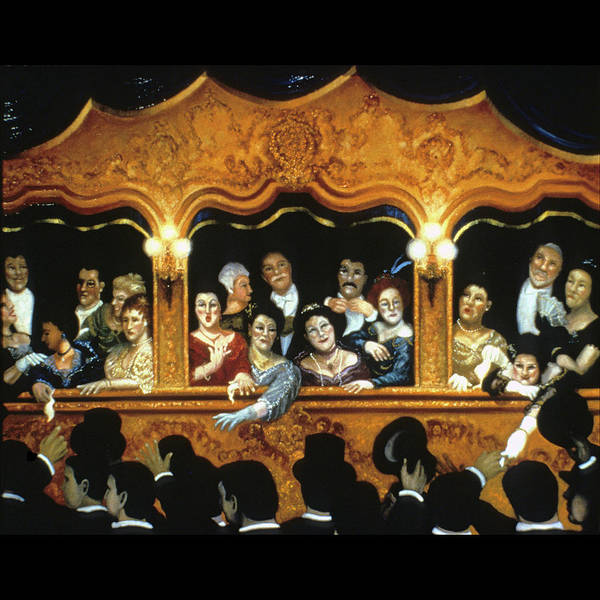 Opera Art Print featuring the painting Opening At La Fenice by Scott Jones