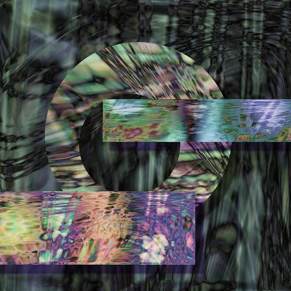 Metal Art Print featuring the digital art Oxidzed by Gae Helton