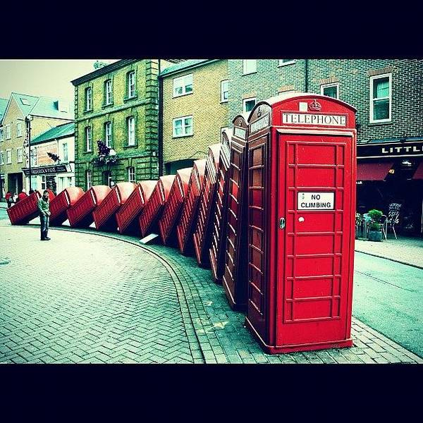 London Art Print featuring the photograph #photooftheday #london #british by Ozan Goren