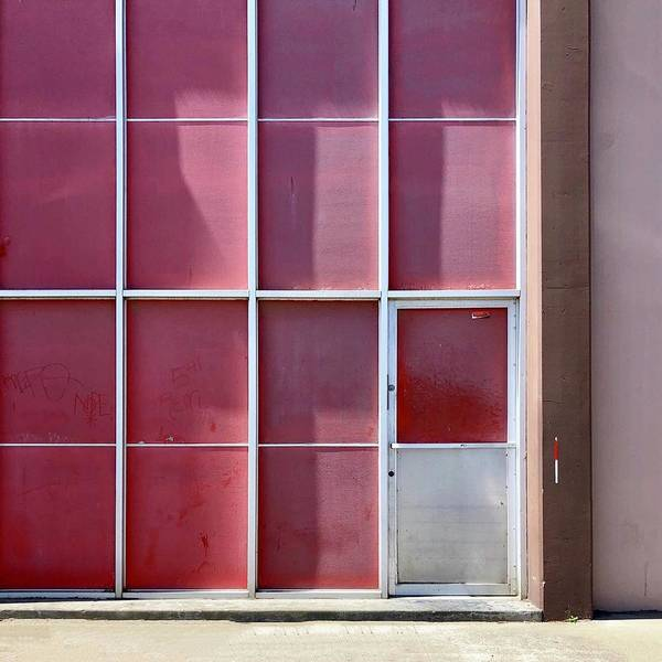 Art Print featuring the photograph Pink Squares by Julie Gebhardt