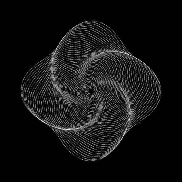 Polar Flower Art Print featuring the digital art Polar Flower Ivk by Robert Krawczyk