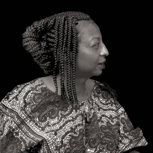 African American Art Print featuring the photograph Queenie by Fern Logan