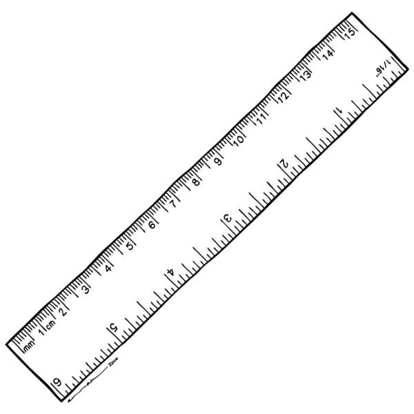 drawing art print featuring the drawing ruler by karl addison