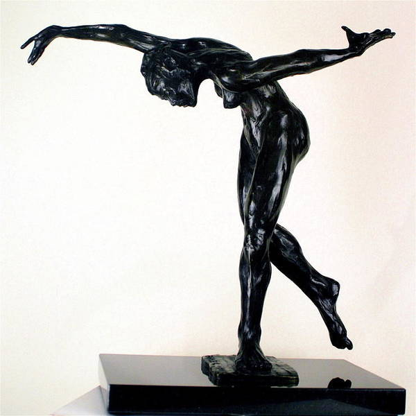 Series Of 10 Art Print featuring the sculpture Shadow Dancer by Dan Earle