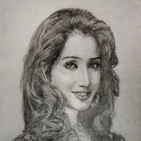 Beautiful Singer Art Print featuring the photograph Shreya Ghoshal by Adwait Relekar