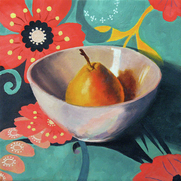 Still Life Art Print featuring the painting Sitting Pretty by Marina Petro