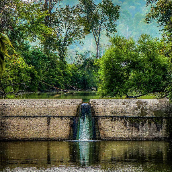 Art Print featuring the photograph Spillway by Kendall McKernon