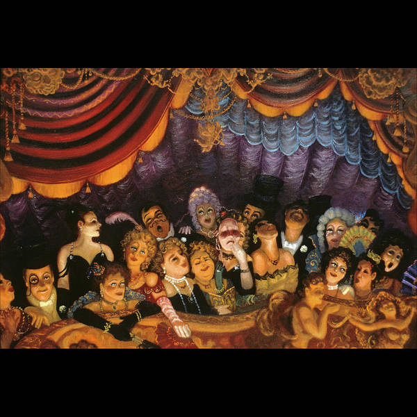 Opera Art Print featuring the painting Standing Room Only by Scott Jones