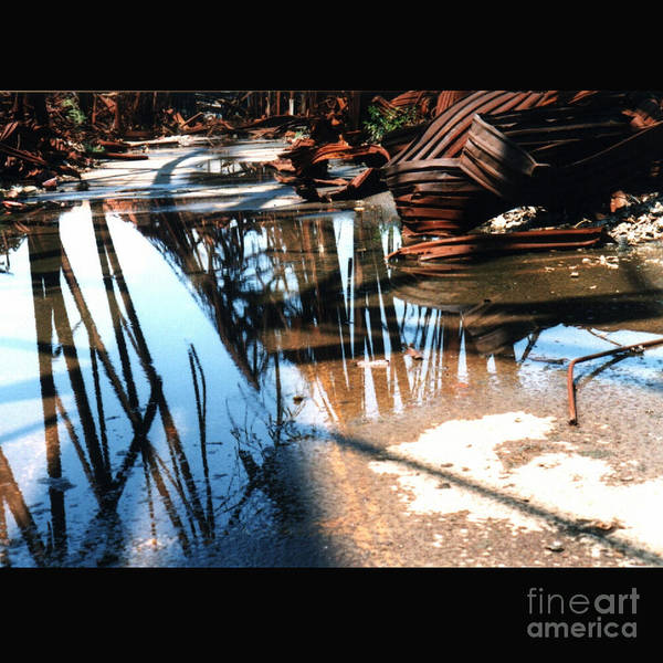 Cityscape Art Print featuring the photograph Steel River by Ze DaLuz
