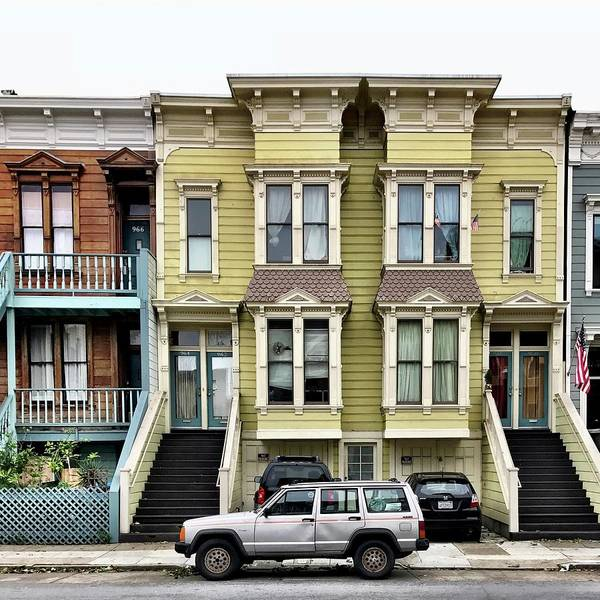 Art Print featuring the photograph Streets Of San Francisco by Julie Gebhardt