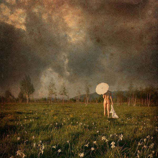 Landscape Art Print featuring the photograph Summer Walk by Floriana Barbu