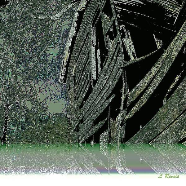Lake Art Print featuring the photograph The Lake House by Leslie Revels