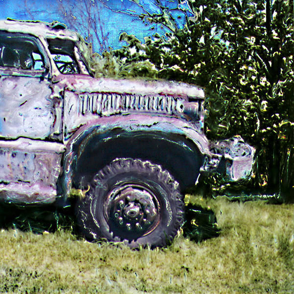 Old Art Print featuring the photograph The Old Truck by Robert Sako