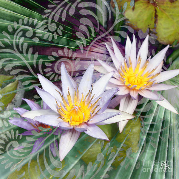 Floral Art Print featuring the photograph Tranquilessence by Christopher Beikmann