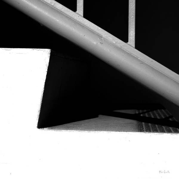 Step Art Print featuring the photograph Two Steps by Bob Orsillo