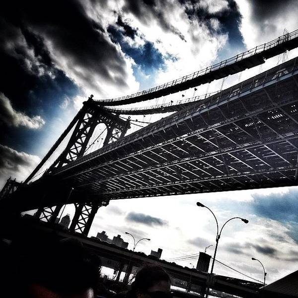 Art Print featuring the photograph Under The Bridge by Christopher Leon