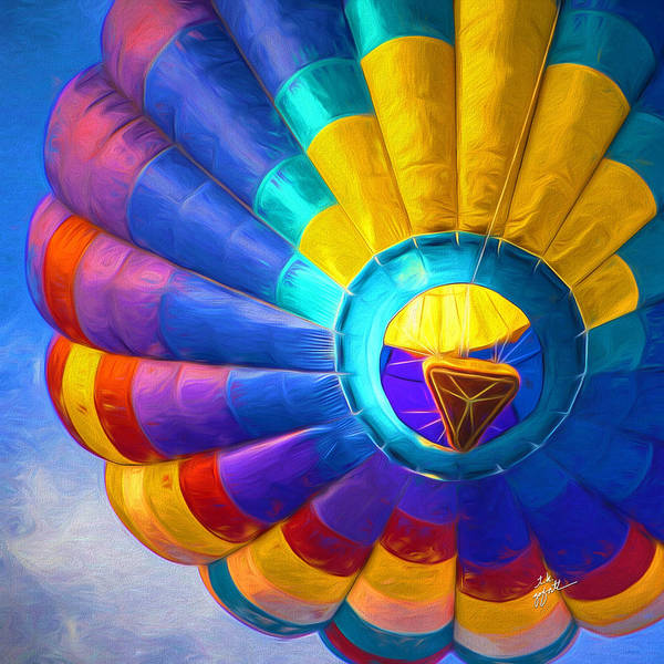 Hot Air Balloon Art Print featuring the photograph Up Up And Away by TK Goforth
