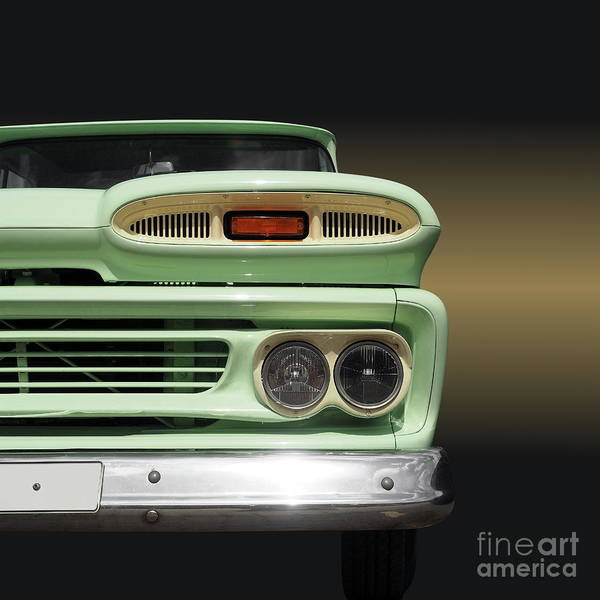 Pickup. Pick Up Art Print featuring the photograph Us Classic Car Pickup 1960 by Beate Gube