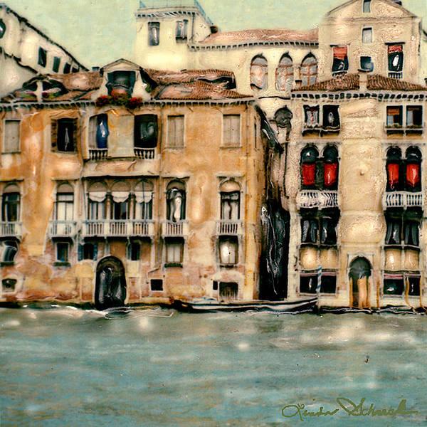 Landscape Art Print featuring the photograph Venice by Linda Scharck