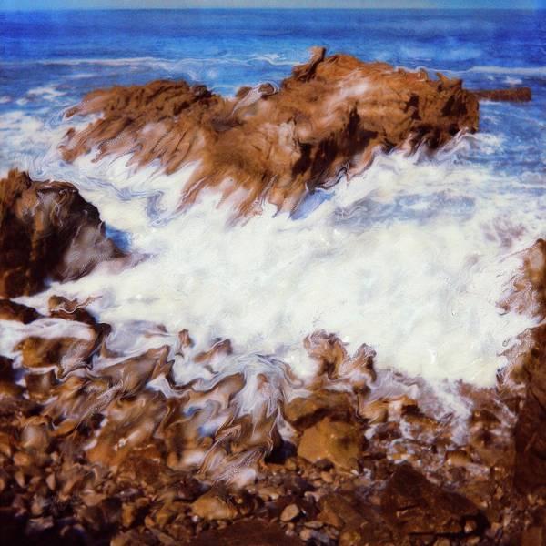 Paul Tokarski Art Print featuring the photograph Water Break by Paul Tokarski