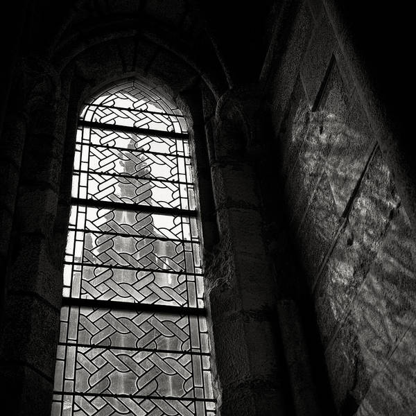 St Michel Art Print featuring the photograph Window To Mont St Michel by Dave Bowman