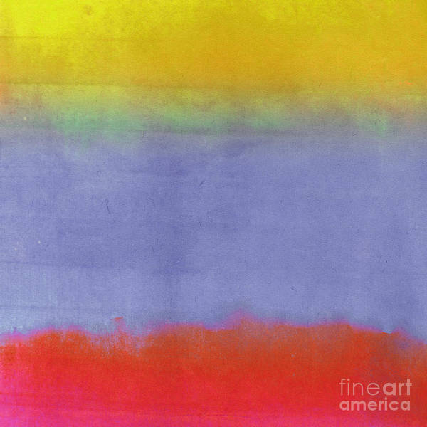 Gradients Art Print featuring the painting Gradients II by Mindy Sommers