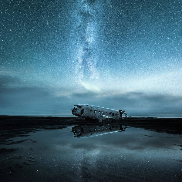 Iceland Art Print featuring the photograph Abandoned In Iceland by Markus Hermannsdorfer