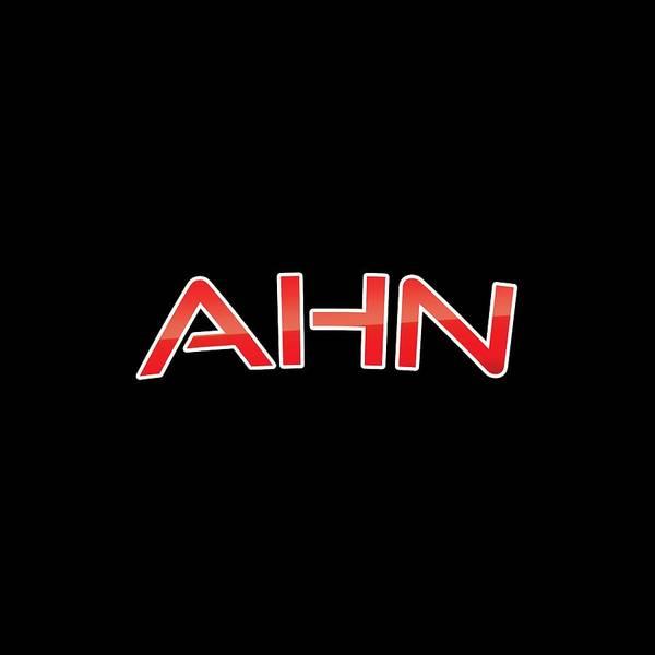 Ahn Art Print featuring the digital art Ahn by TintoDesigns