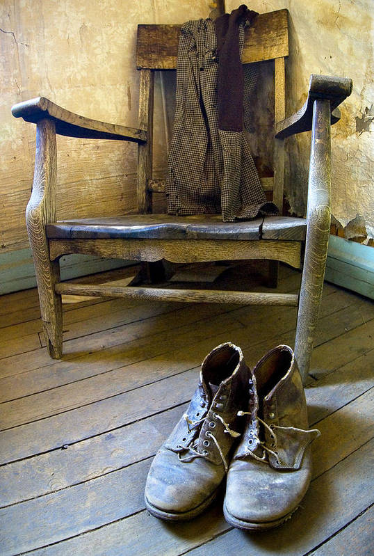 Rustic Art Print featuring the photograph A Hard Day's Work by Susan Stanton