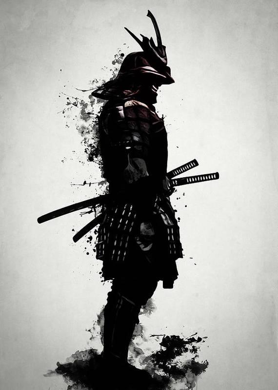 Armored Samurai by Nicklas Gustafsson