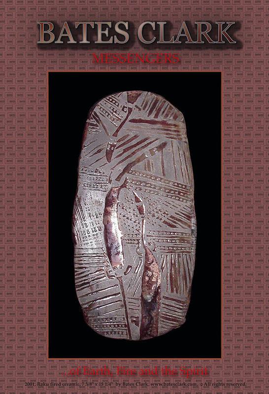 Giclee Print Art Print featuring the digital art Messengers by Bates Clark