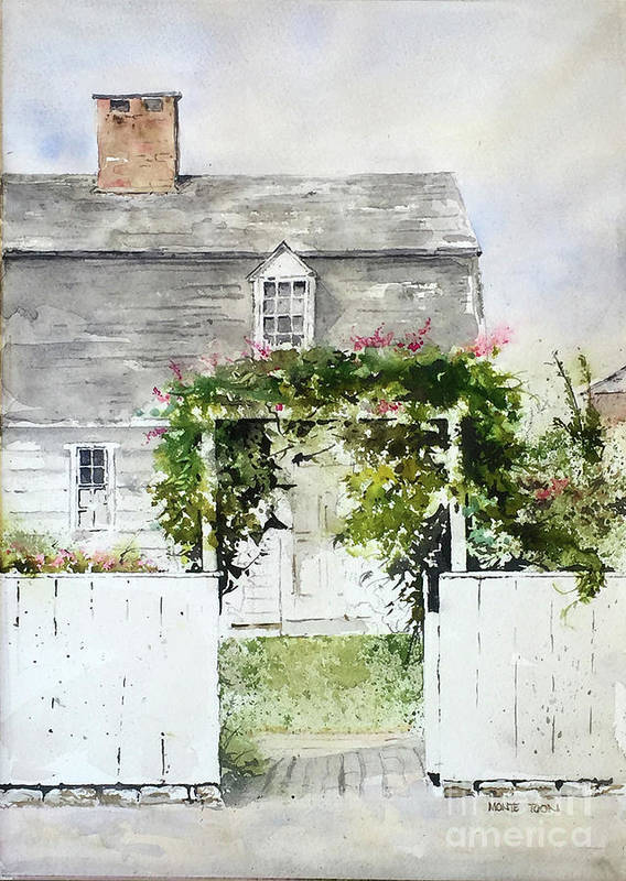 New England Arbor by Monte Toon