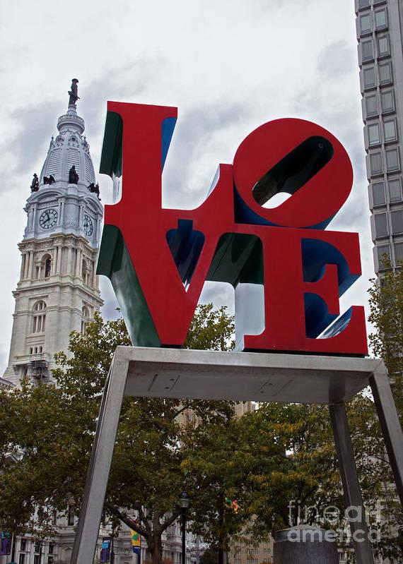 Love Philadelphia 1 by Jack Paolini