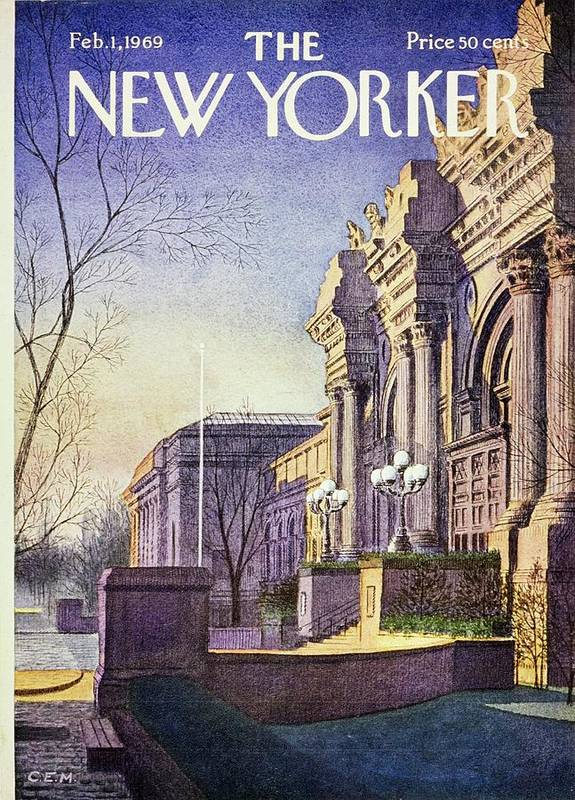 New Yorker February 1st 1969 by Charles Martin