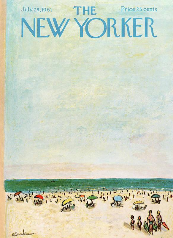 New Yorker July 29th, 1961 by Abe Birnbaum