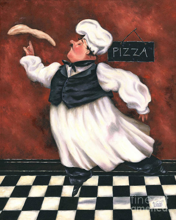 Pizza Chef by Vickie Wade