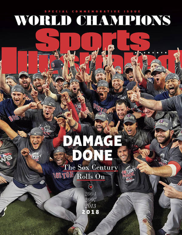 Championship Art Print featuring the photograph Boston Red Sox, 2018 World Series Champions Sports Illustrated Cover by Sports Illustrated