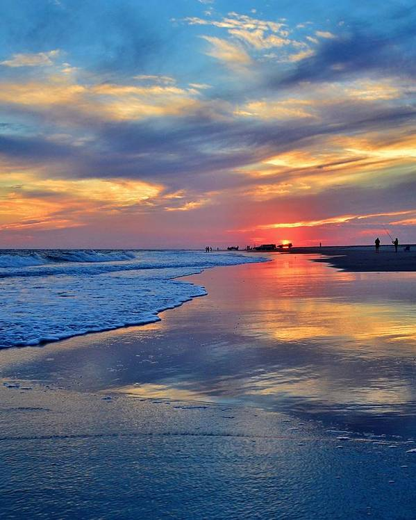 Emerald Isle Sunset by David Knowles