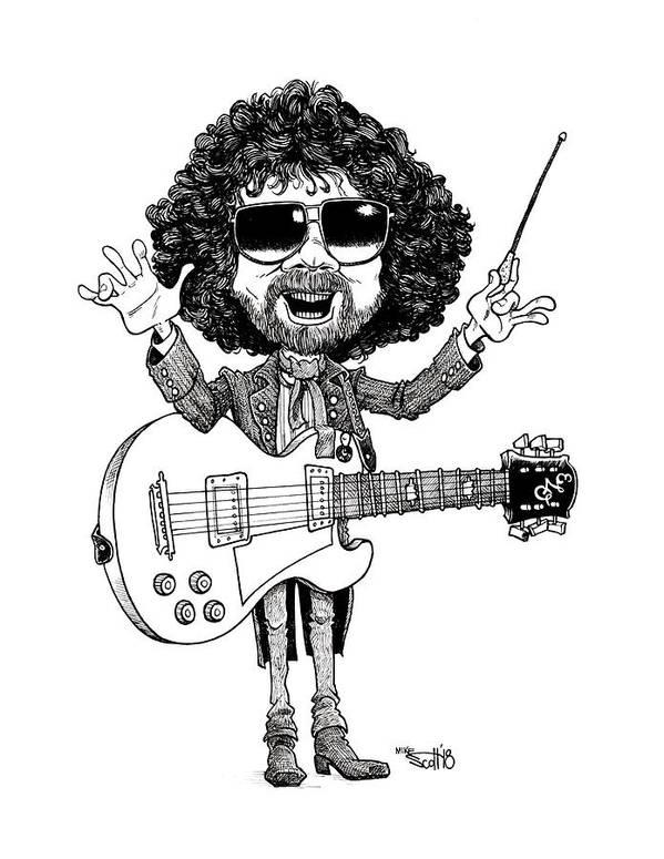 Jeff Lynne by Mike Scott