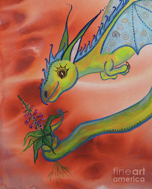 Sloan Dragon Magick No. 50 by Ilisa Millermoon