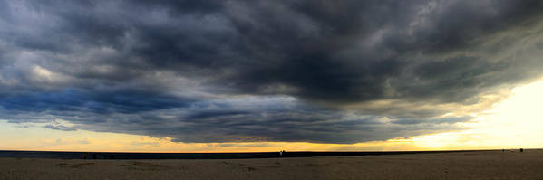 Cape May New Jersey Art Print featuring the photograph Cape May Panorama by William Joseph