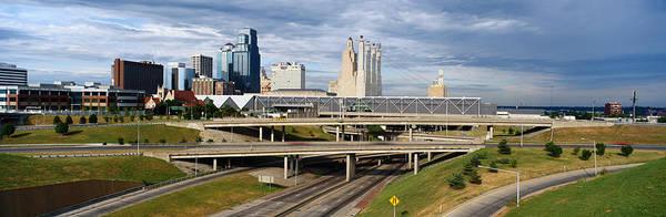 Panoramic Art Print featuring the photograph Kansas City Skyline, Missouri by Jeremy Woodhouse