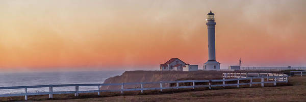 Lighthouse Art Print featuring the photograph Mysterious Point Arena Lighthouse California by Betsy Knapp
