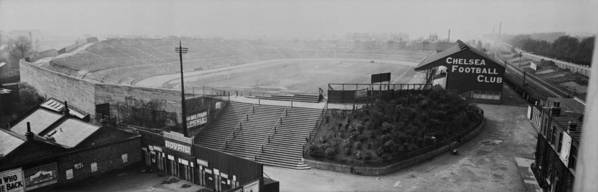 Empty Art Print featuring the photograph Stamford Bridge View by Alfred Hind Robinson