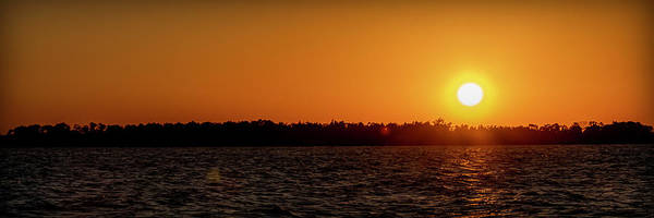 Sunset Art Print featuring the photograph 20-0608-0179 Pan by Anthony Roma