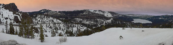 Art Print featuring the photograph Donner Panoramic by Adam Blankenship